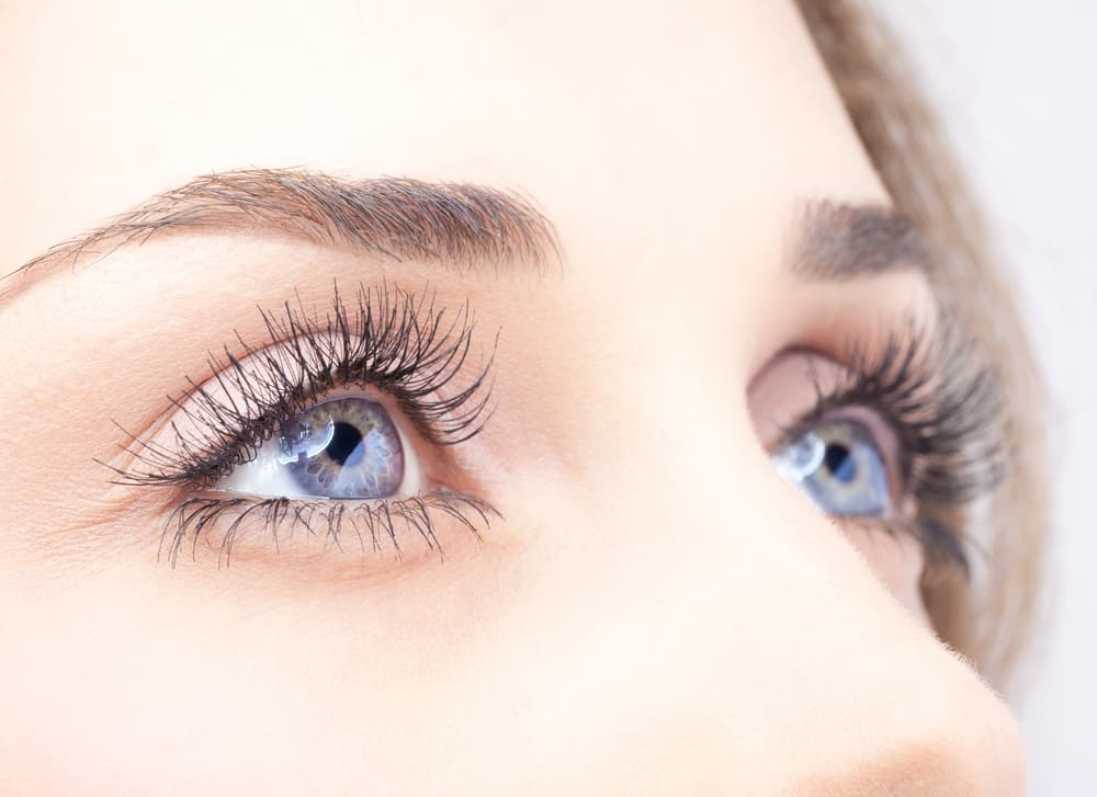 kvinders øjne
