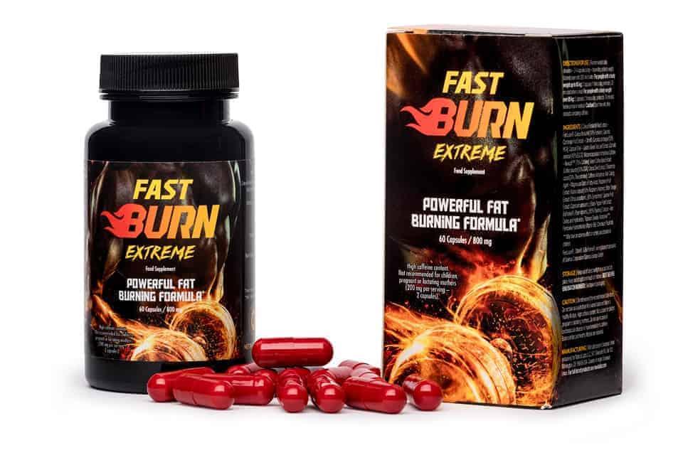 Tabletas Fast Burn Extreme