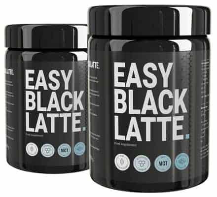 deux paquets Easy Black Latte