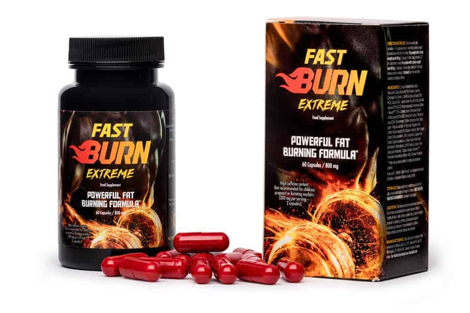 Tablettes Fast Burn Extreme