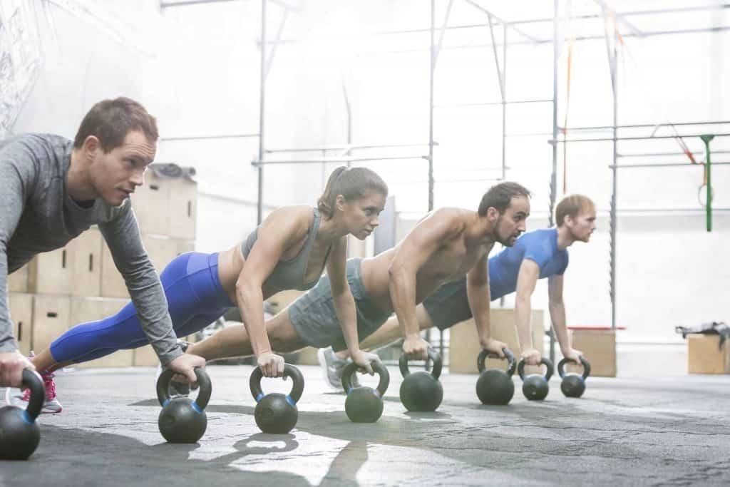 exercices avec haltères