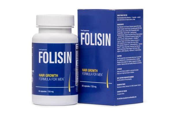 comprimés pour la croissance des cheveux Folisin