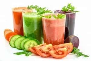 Milk-shakes aux légumes