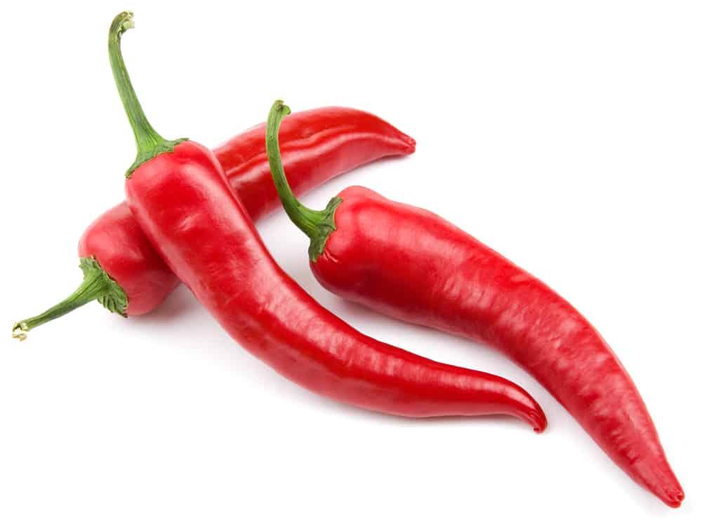 καυτερές πιπεριές τσίλι