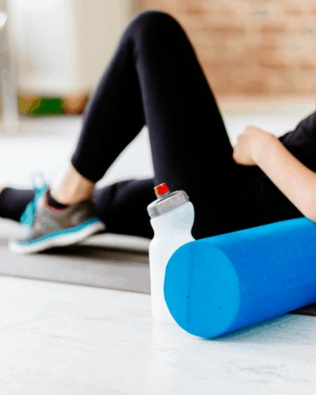five foam roller exercises