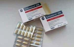 Testosterol imballaggio