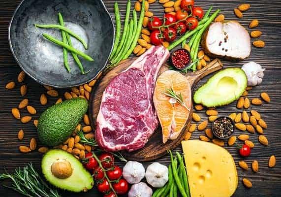prodotti dietetici chetogenici