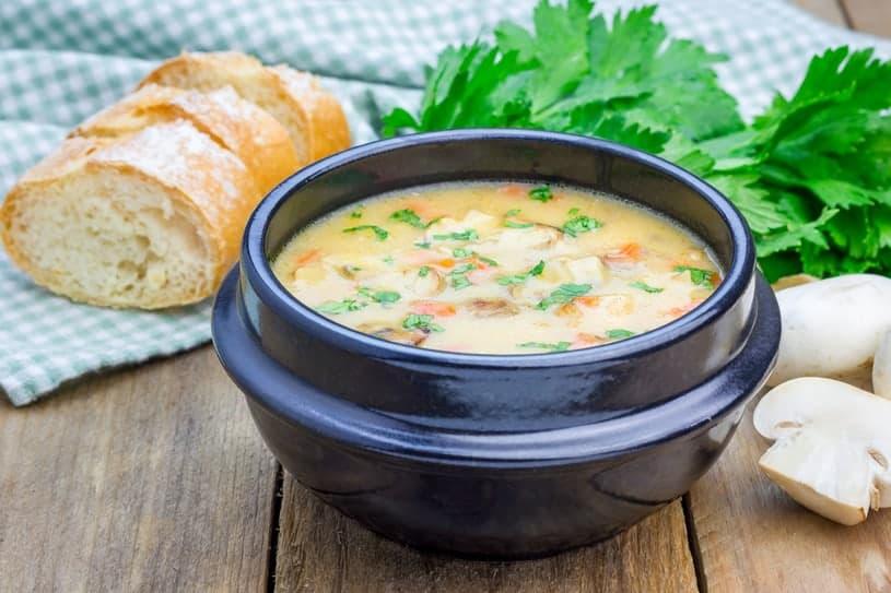zuppa di verdure sana