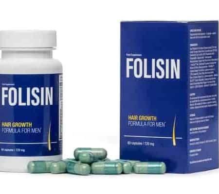 Folisin imballaggio e capsule sparse