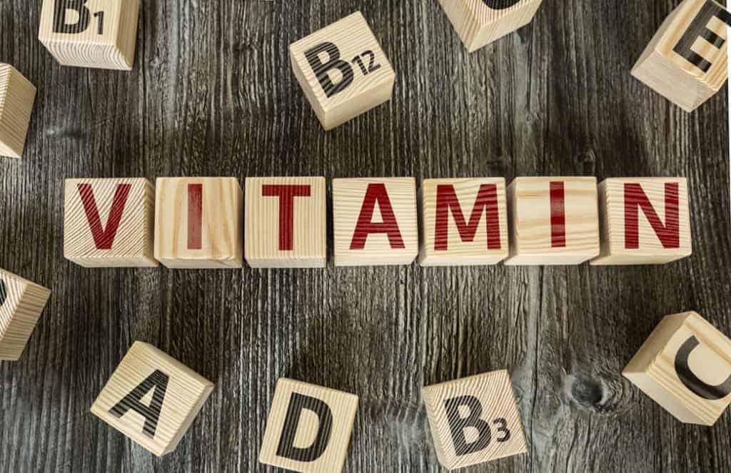 blocchi di vitamine