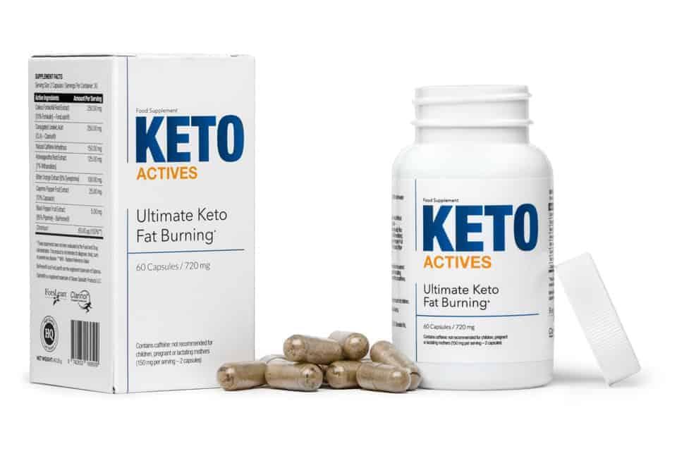 Keto Actives kapsulas