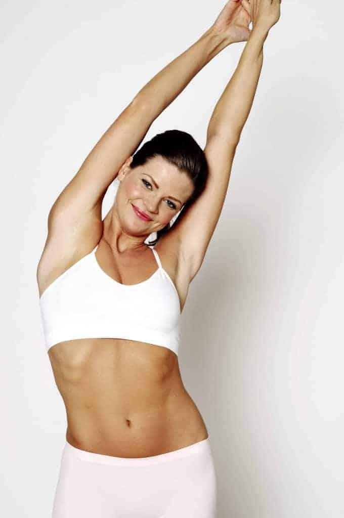 slanke fitte vrouw