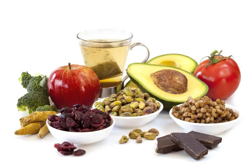 producten met antioxidanten