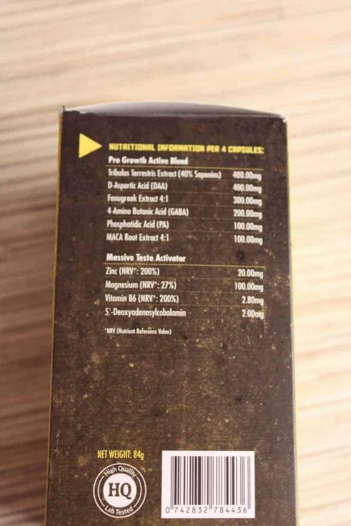 composição de produtos em massa extrema