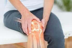 dor nas articulações do joelho