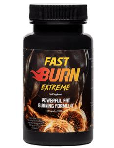 Embalagem Fast Burn Extreme