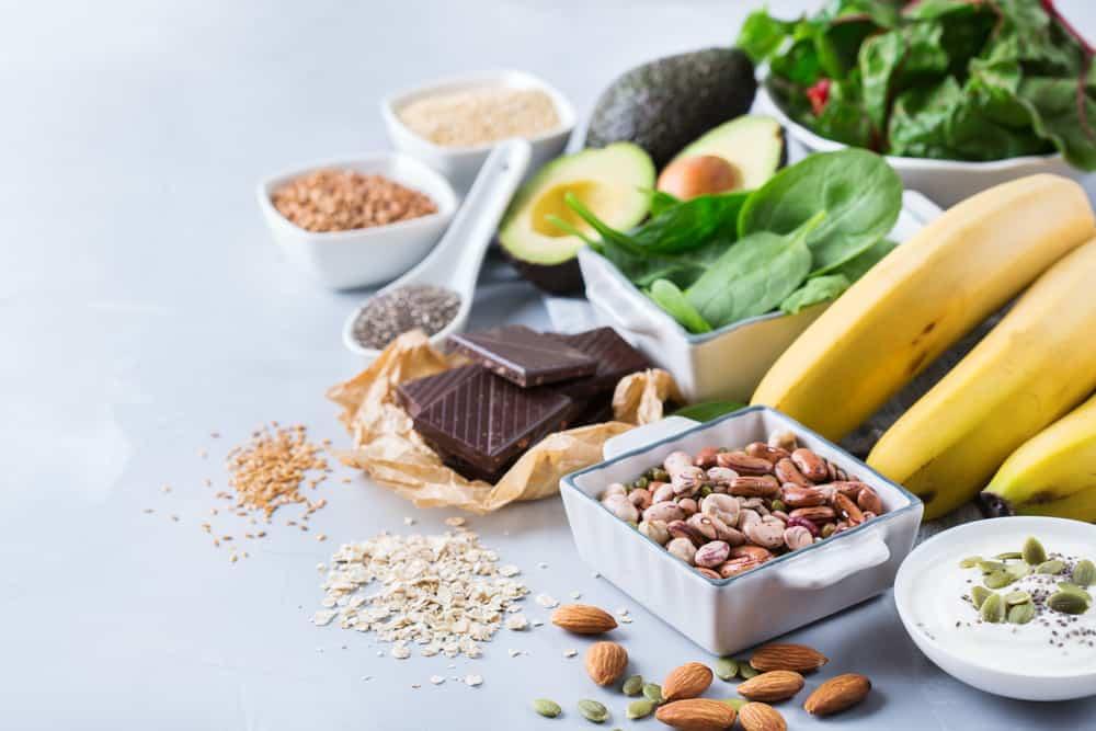 Alimentos que contêm magnésio