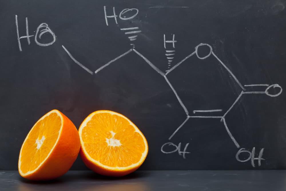 Vitamina C em fórmula