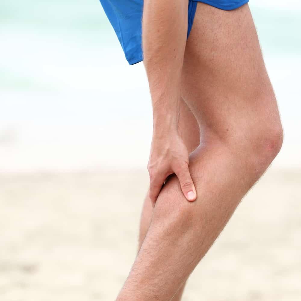 cãibras na barriga da perna