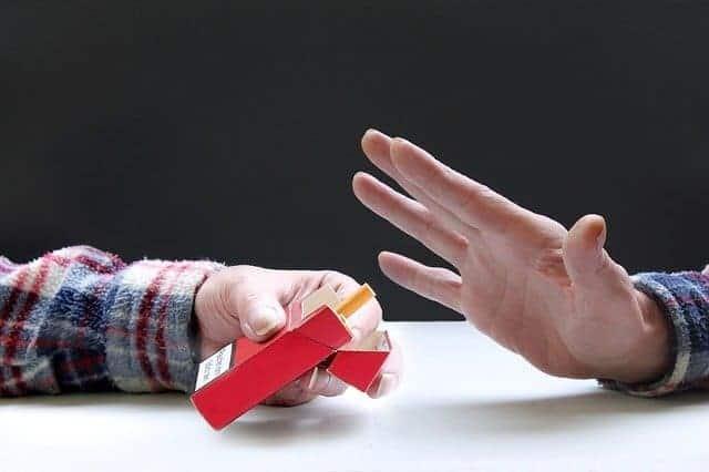 Jag röker inte