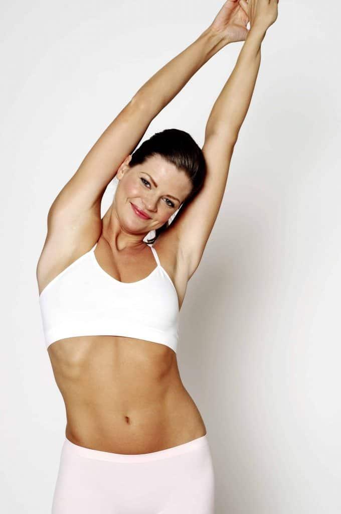štíhla fit žena