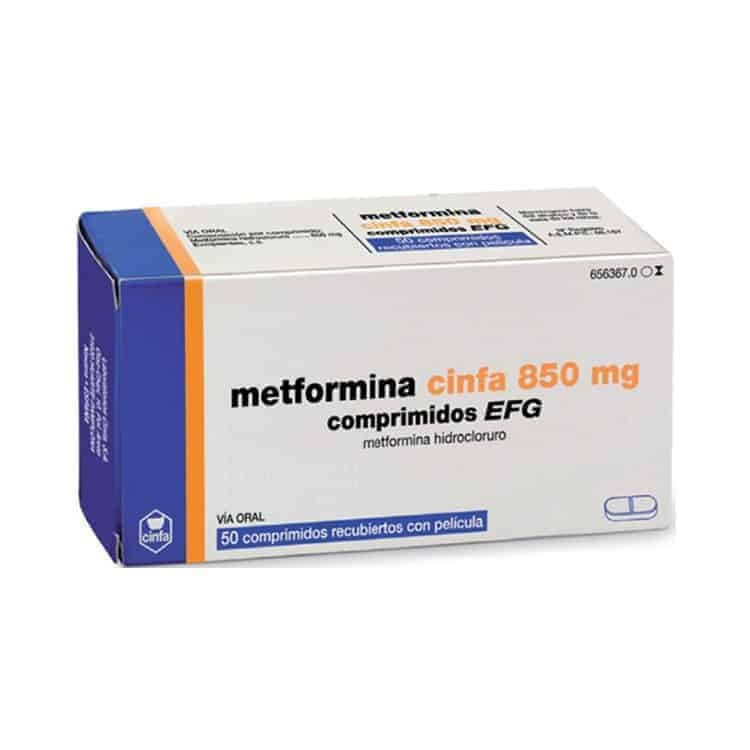 Metformina comprimidos