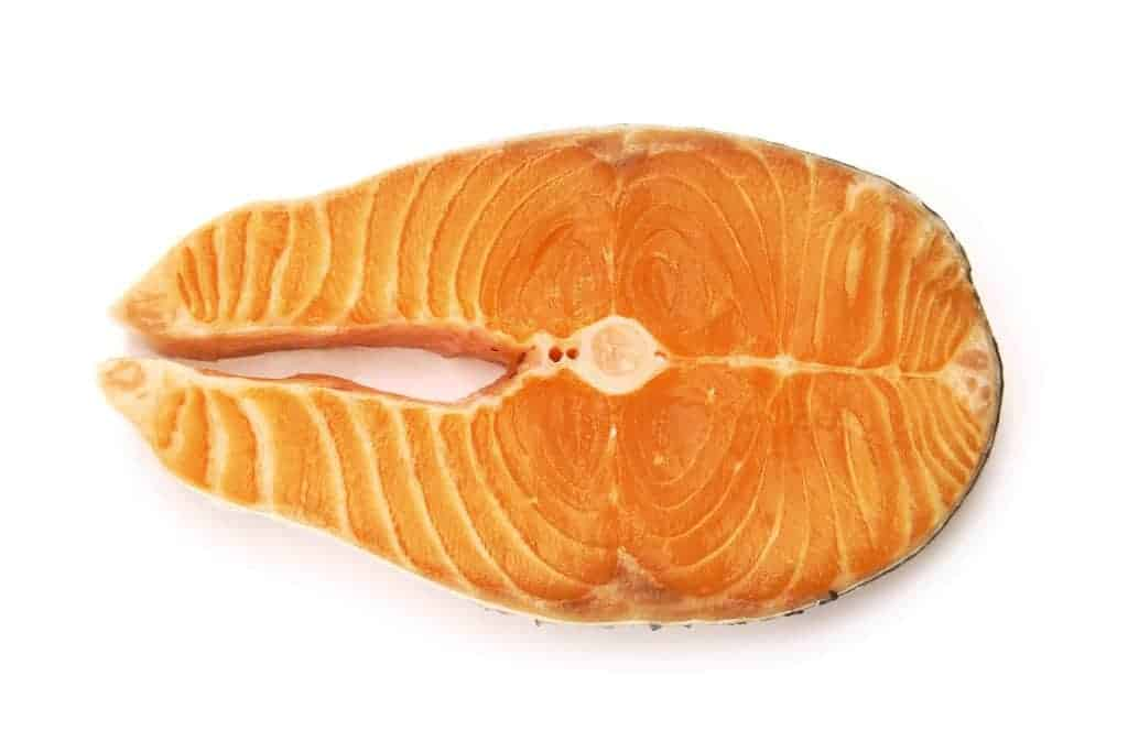 Atlantic salmon - a source of omega 3 acids