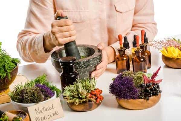 preparation of slimming herbs