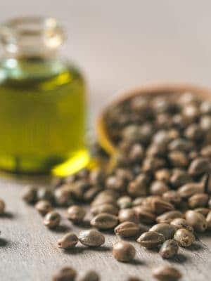 Hemp oil and hemp seed