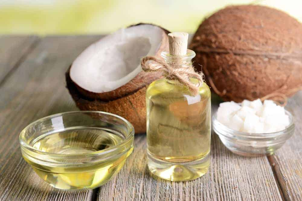 Coconut oil and coconut fruit