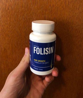 Folisin hair loss capsules