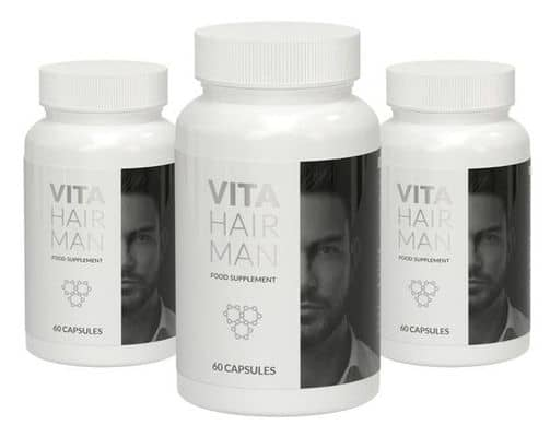 Vita Hair Man packaging