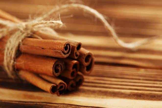 bound cinnamon sticks