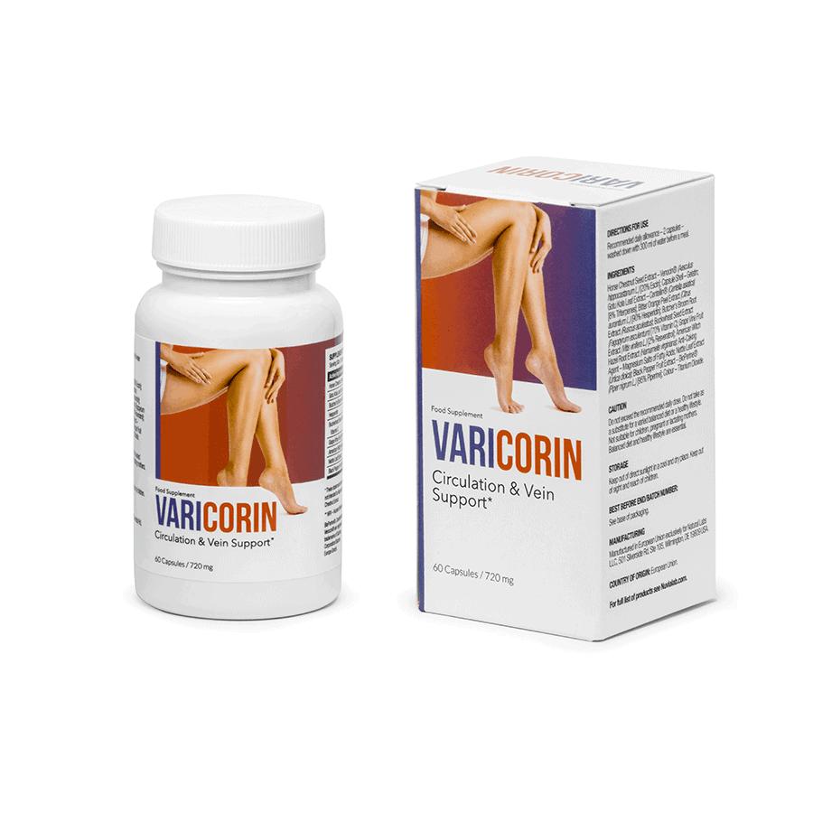 varicorin varicose vein pain relief tablets
