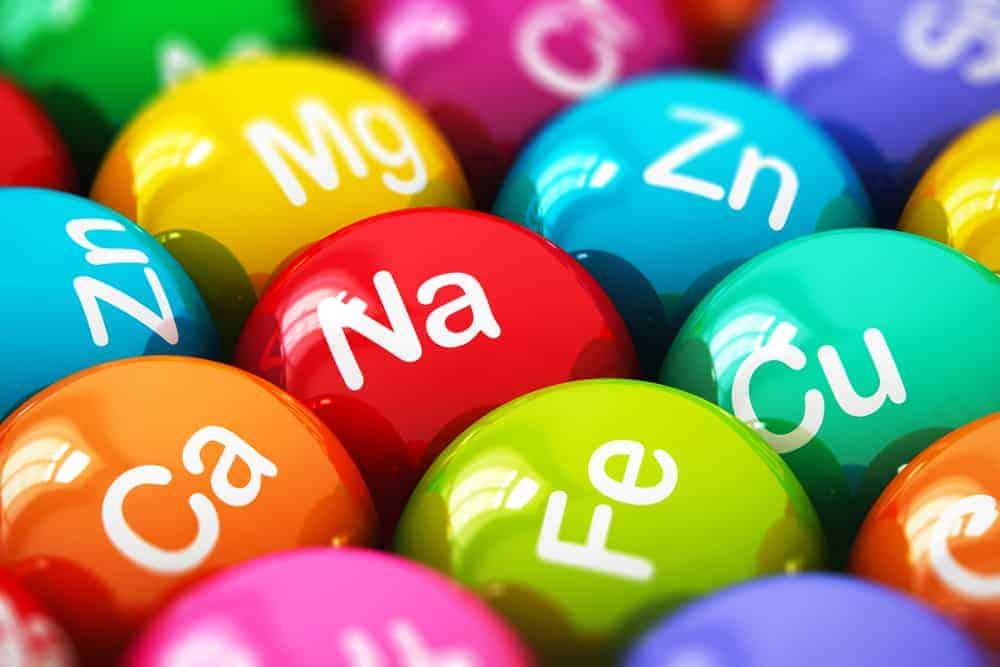 Minerals tablets